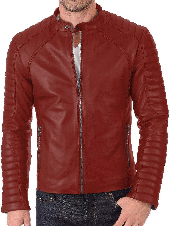 Black, Fencing Jacket Laverapelle Mens Genuine Lambskin Leather Jacket 1501417