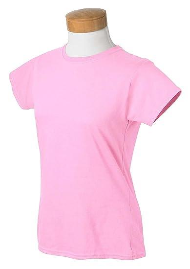 356b9f06 Gildan G640L Softstyle® Ladies' 4.5 oz. Junior Fit T-Shirt-LIGHT ...