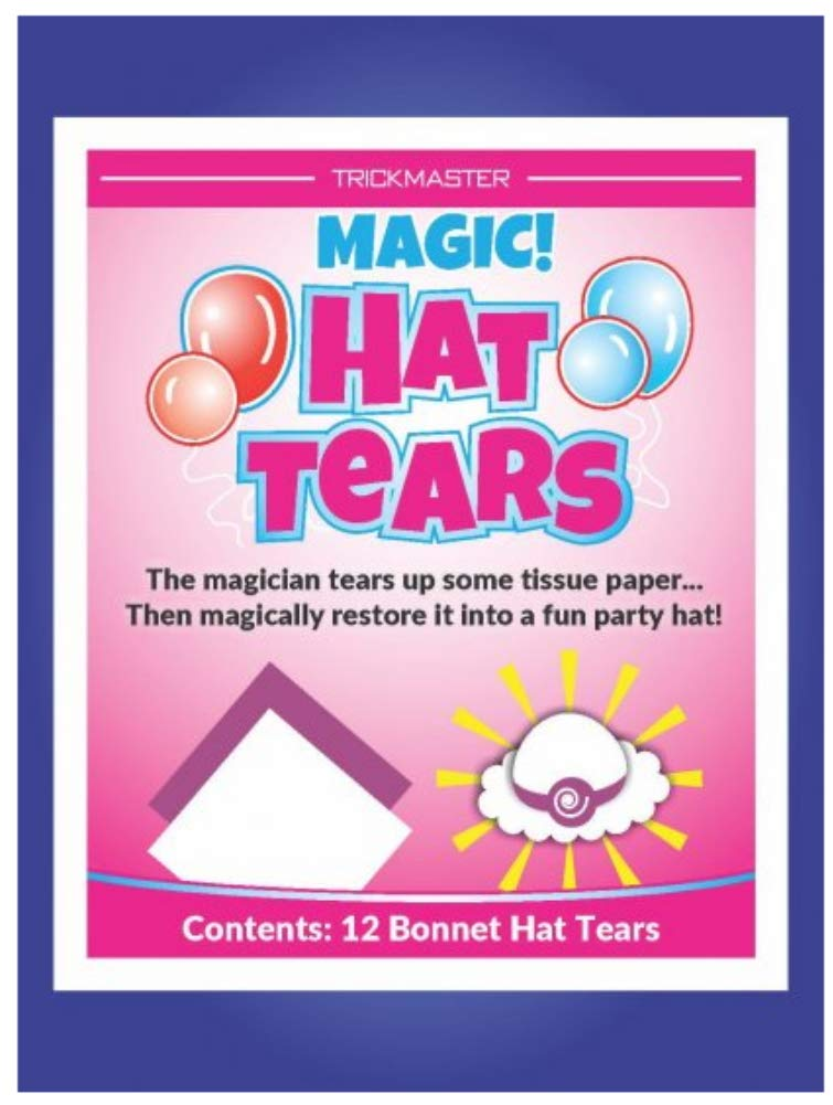 Magic Bonnet Hat Tears - Easy to do and Fun to Perform! by Trickmaster