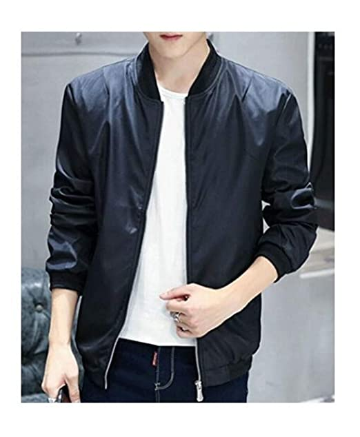 Amazon.com: Hzcx Fashion - Chaqueta bomber para hombre ...