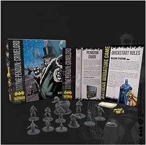 Knight Models Juego de Mesa - Miniaturas Resina DC Comics Superheroe - Batman Bat-Box Penguin Crimelord: Amazon.es: Juguetes y juegos
