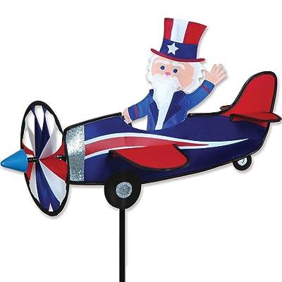 Premier Kites Pilot Pal Spinner - Uncle Sam: Garden & Outdoor