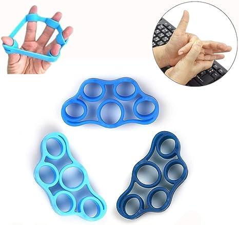 Finger Hand Exerciser Strengthener Wrist Forearm Grip Trainer  Resistance Band