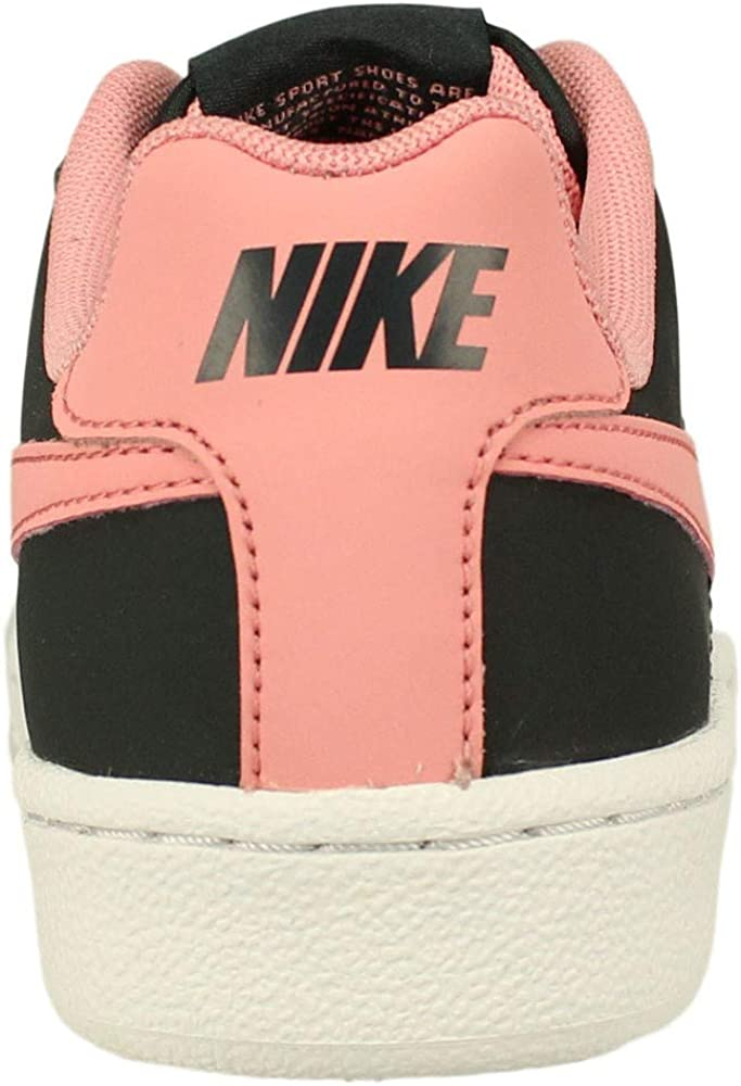 Nike Zapatillas Court Royale (GS) Anthracite/Bright Melon White, Chaussures de Fitness Mixte Adulte Noir