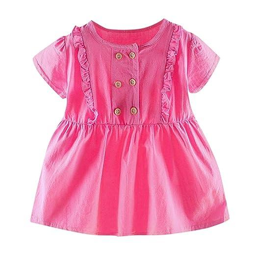 Hopwin baby dress Vestido para niña de 0 a 2 años, Vestido de ...