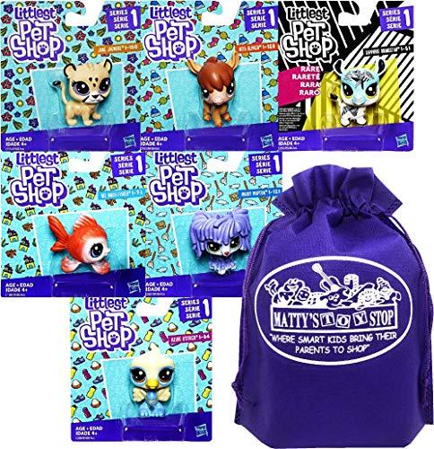 Littlest Pet Shop Series 1 Bobble Heads Nita Alpaco, Jane Jagmore, Rei Angelfisher, Azure O