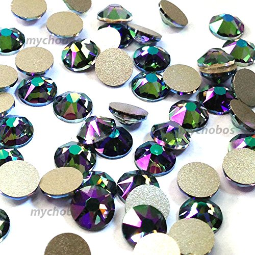 36 pcs CRYSTAL PARADISE SHINE (001 PARSH) Swarovski 2088 XIRIUS 30ss Flat backs rhinestones nail art 6.4mm ss30 **FREE Shipping from Mychobos ()