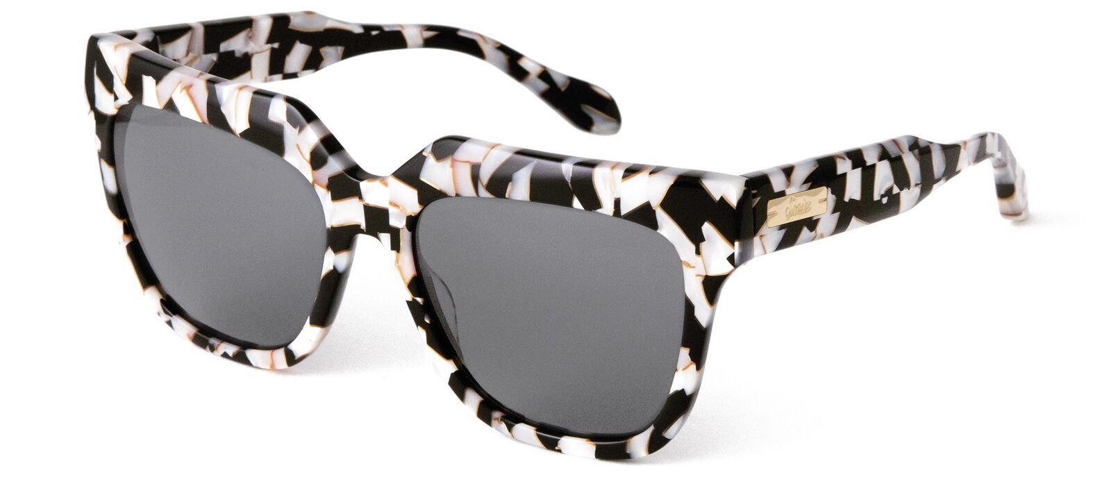 Sonix Women's Avalon Sunglasses, Luxe Marble/Black, One Size by Sonix (Image #2)