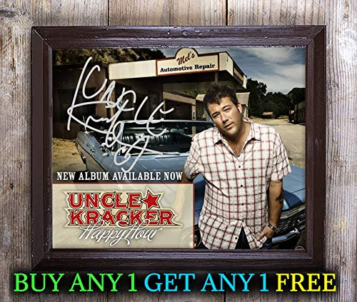 Uncle Kracker Double Wide Autographed Signed 8x10 Photo Reprint #79 Special Unique Gifts Ideas Him Her Best Friends Birthday Christmas Xmas Valentines Anniversary Fathers Mothers Day