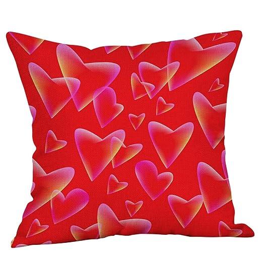 Doingshop-Pillow Cases Fundas de cojín para sofá con Texto ...