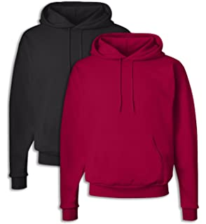 Hanes P170 Mens EcoSmart Hooded Sweatshirt 3XL 1 Light Steel 1 Pale Pink