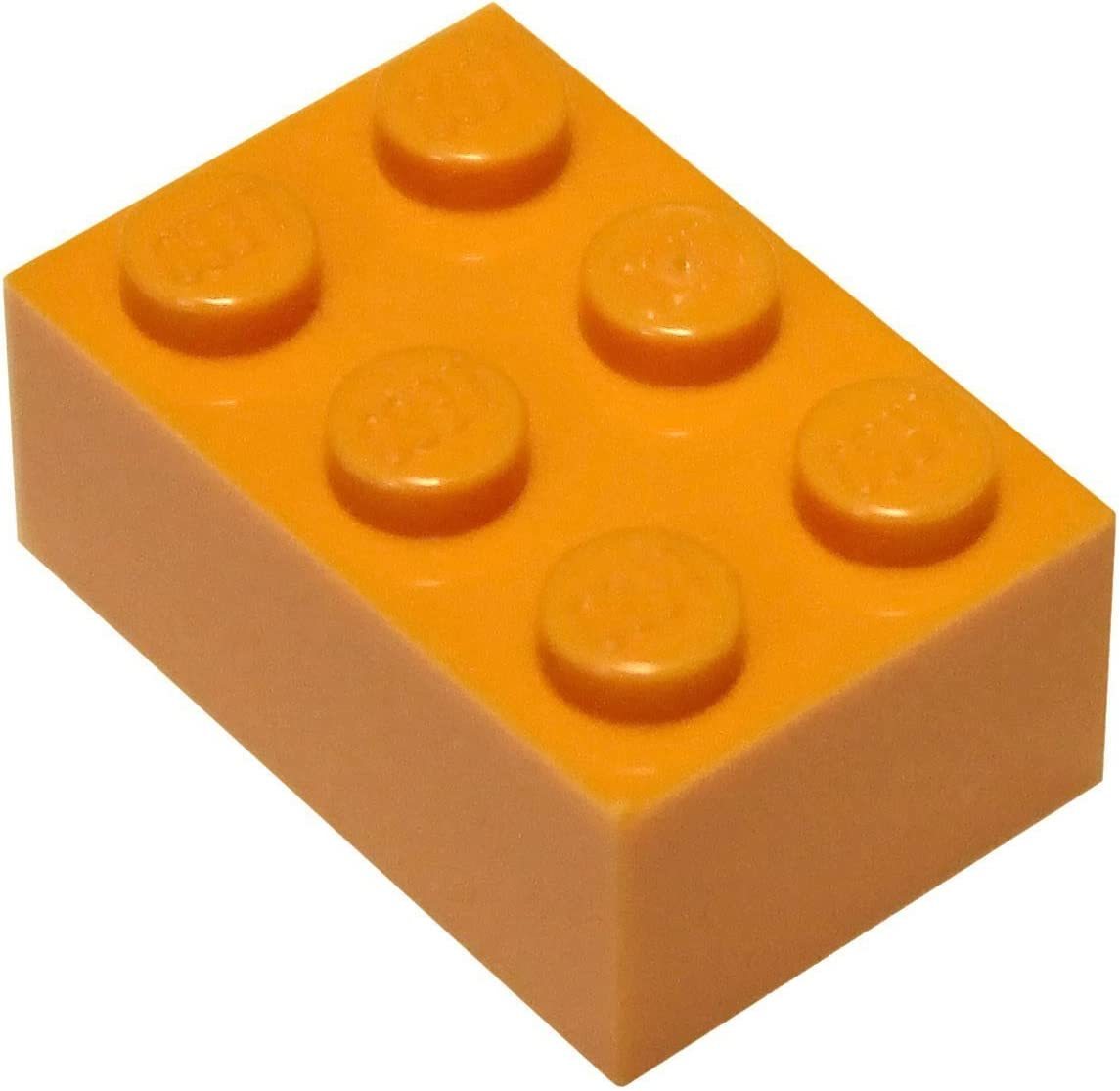 LEGO Parts and Pieces: 2x3 Orange (Bright Orange) Brick x100