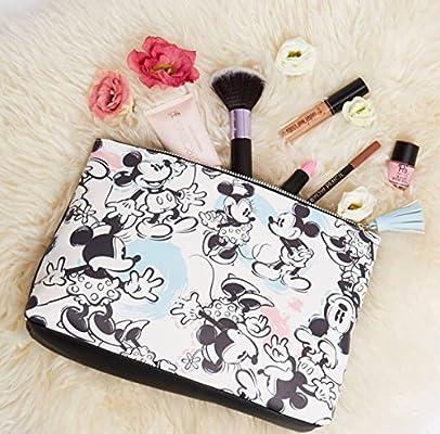 Disney primark Mickey y Minnie neceser Grande Make Up Bolsa Nueva: Amazon.es: Belleza