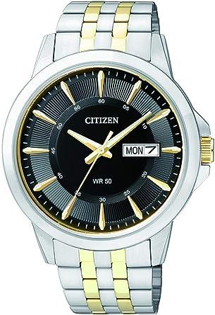 Orologio citizen da uomo analogico al quarzo, in acciaio inox BF2018-52EE