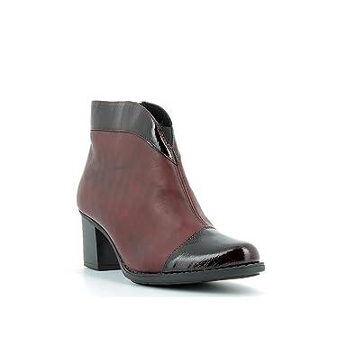 96464e88f923c4 Rieker - Z7664 - Bottes Et Boots - Femme - Semelle Amovible : Non ...