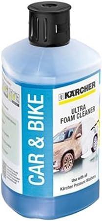 Karcher - Detergente per auto e bici, 1 l, 3 in 1 Plug & Clean
