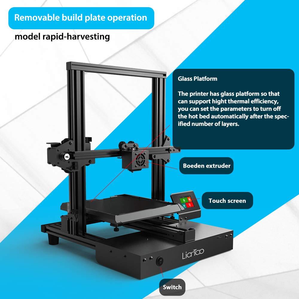 Kit de impresora 3D con mayor tamaño de impresión y pantalla ...
