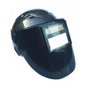 ZHIFENGLIU Tipo de Casco luz Variable automática PC Soldadura máscara Soldadura Superficie Pantalla máscara de luz: Amazon.es: Deportes y aire libre