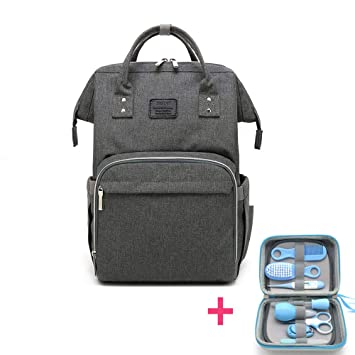 31209bd0d Amazon.com   Baby Diaper Bag with Nursery Care Kit Set