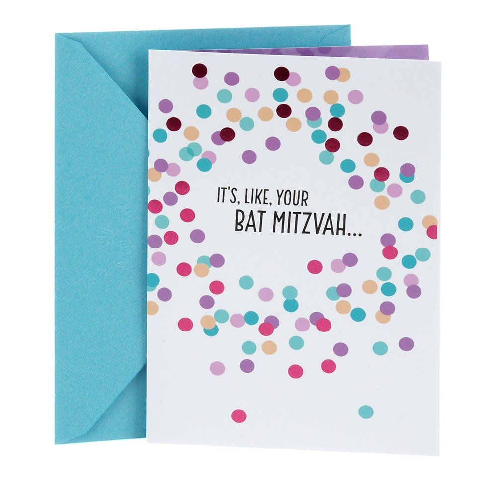 Amazon Hallmark Tree Of Life Bat Mitzvah Greeting Card