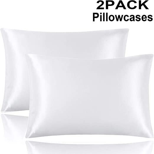 Amazon Com Yosico Satin Pillowcase For Hair And Skin Two Pack
