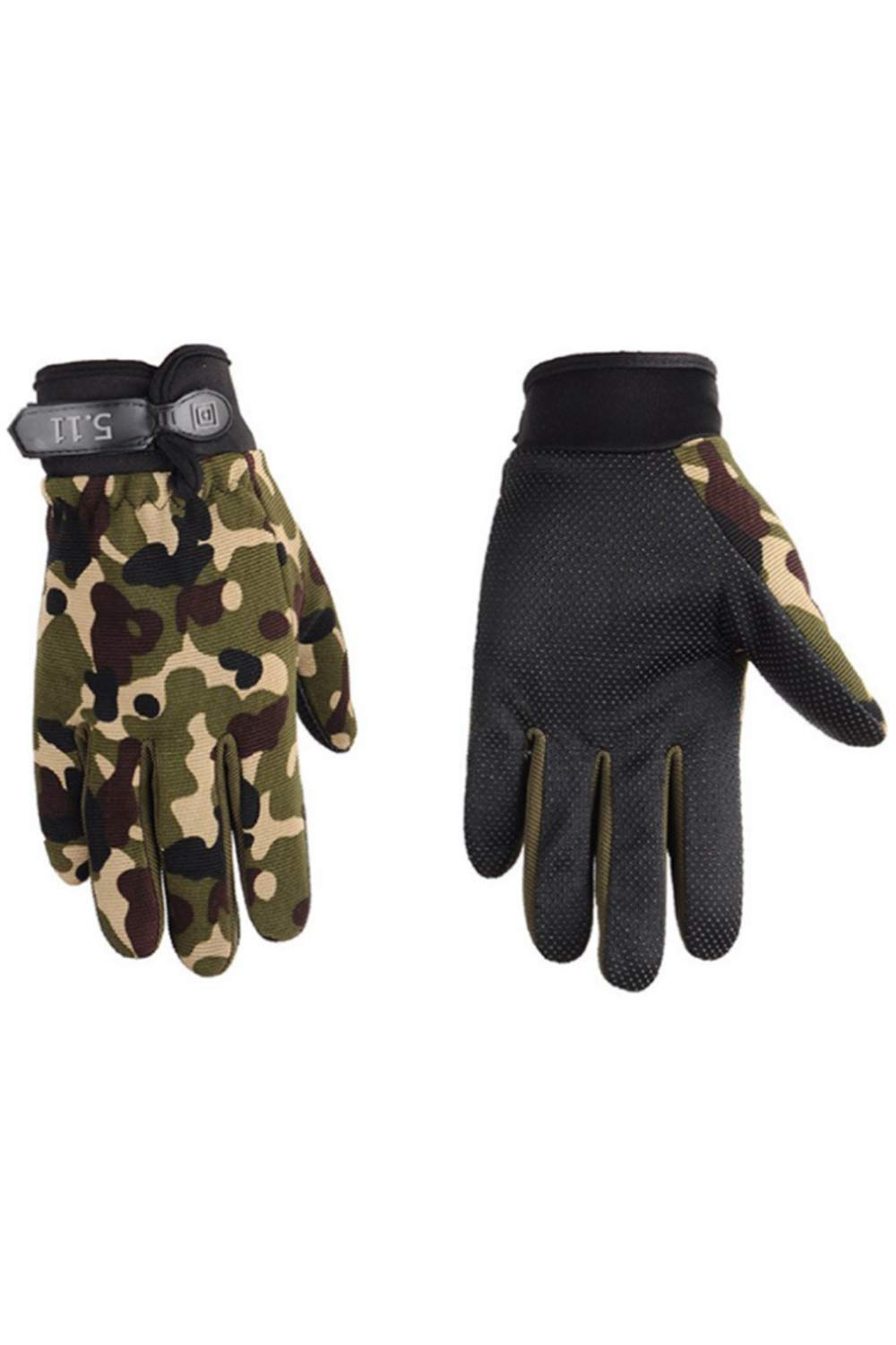 Winter Gloves Windproof Anti-Skid Driving Riding Cycling Gloves Camo One Size