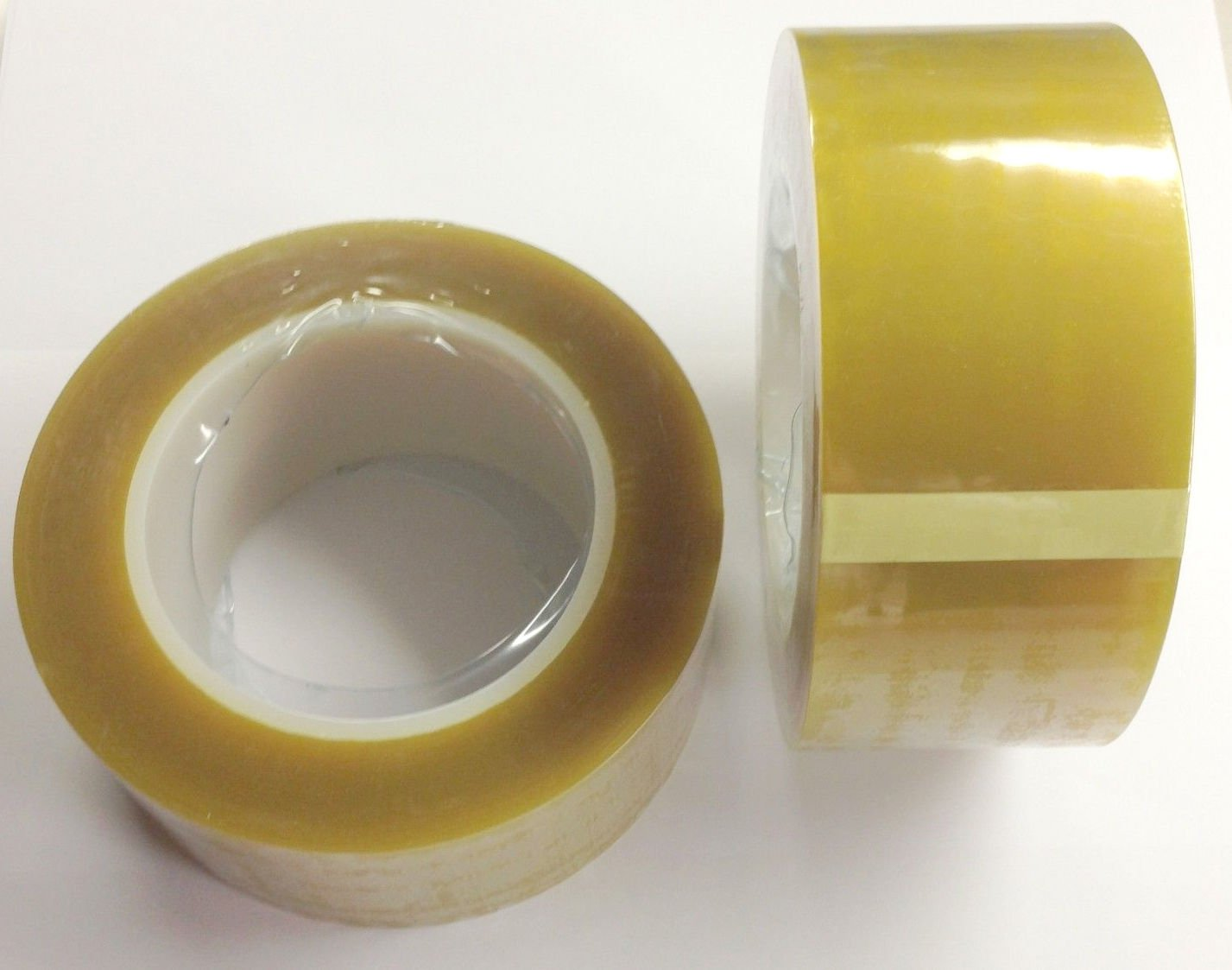 (2) HIGH TEMPERATURE POWDER COATING POLYESTER SILICONE MASKING TAPE 2'' X 72 YDS