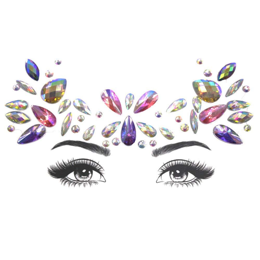 Conjunto de diamantes de imitación sirena joyería tatuaje ojo ...
