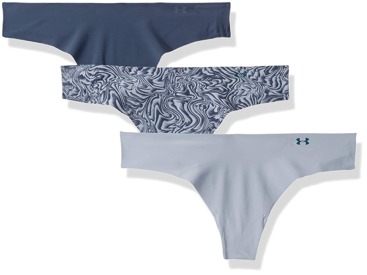 3 Pack Under Armour Thong Print