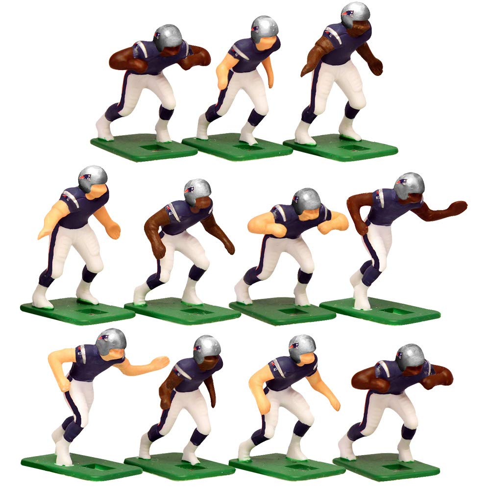 Pittsburgh Steelers Home Jersey NFL Action Figure Set and New England Patriots Home Jersey NFL Action Figure Set
