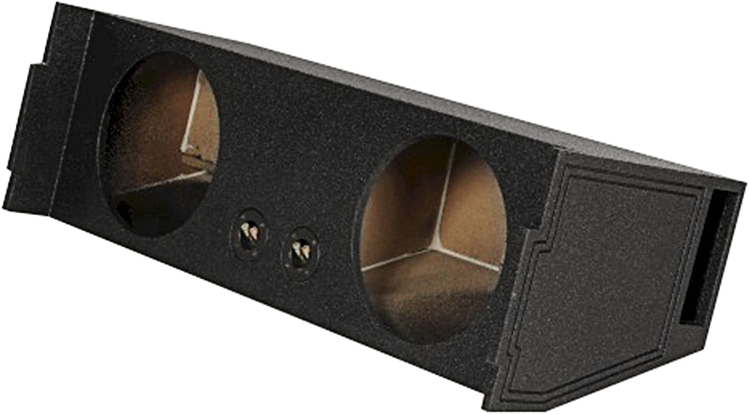 """Rockville REC97 Dual 12"""" Ported SUV Subwoofer Sub Box Enclosure - Behind 3rd Row"""