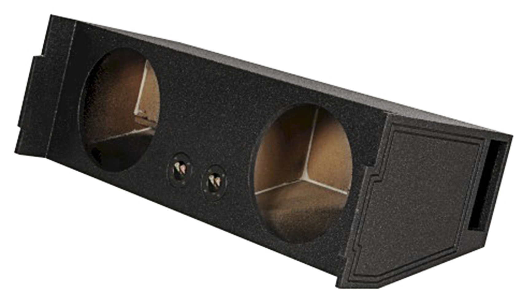 Rockville REC97 Dual 12'' Ported SUV Subwoofer Sub Box Enclosure - Behind 3rd Row