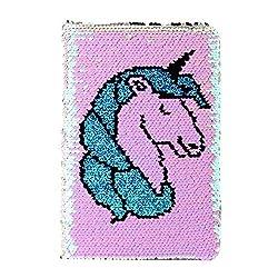 Unicorn03 Reversible Sequin Journal