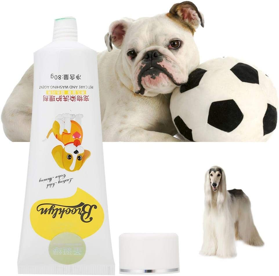 Zetiling Crema para teñir el pelo de perro, 80g Profesional ...