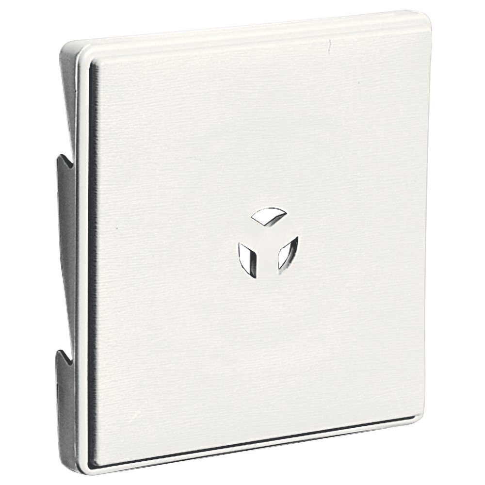 Builders Edge 130110007123 Surface Block for Triple 3'' 123, White