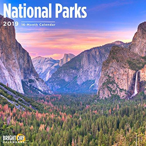 National Parks 2019 16 Month Wall Calendar 12 x 12 ()