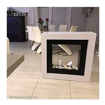 Perfekt Brenngelkamin Gelkamin Kaminofen Raumteiler Kaminfeuer Für Schöne Stunden  Im Wohnzimmer
