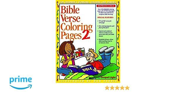 Bible Verse Coloring Pages 2 No 2 Gospel Light Dan Farris
