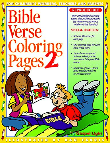 Learning Bible Verses - Bible Verse Coloring Pages - 2 (No. 2)