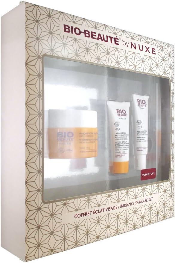 Bio Beauté Coffre Éclat Visage - Pack de tratamiento para rostro: Amazon.es: Salud y cuidado personal