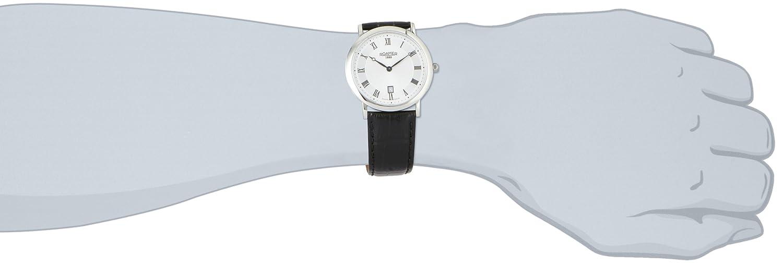 Roamer Herren-Armbanduhr XL LIMELIGHT Analog Quarz Leder 934856 SL3
