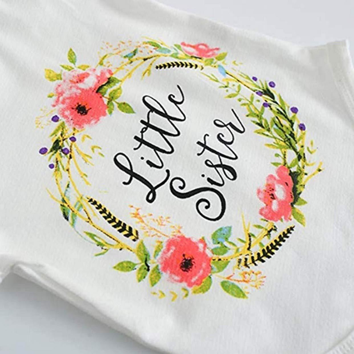 EVRYLON T-Shirt Big Sister o Body Little Sister Idea Regalo per Sorella Maggiore o minore la Confezione Contiene Un Solo Articolo