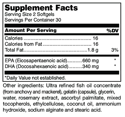 Douglas Laboratories - Opti-EPA - Omega-3 Fatty Acids to Support Cardiovascular and Neurological Health* - Enteric Coated - 60 Softgels by Douglas Laboratories (Image #1)