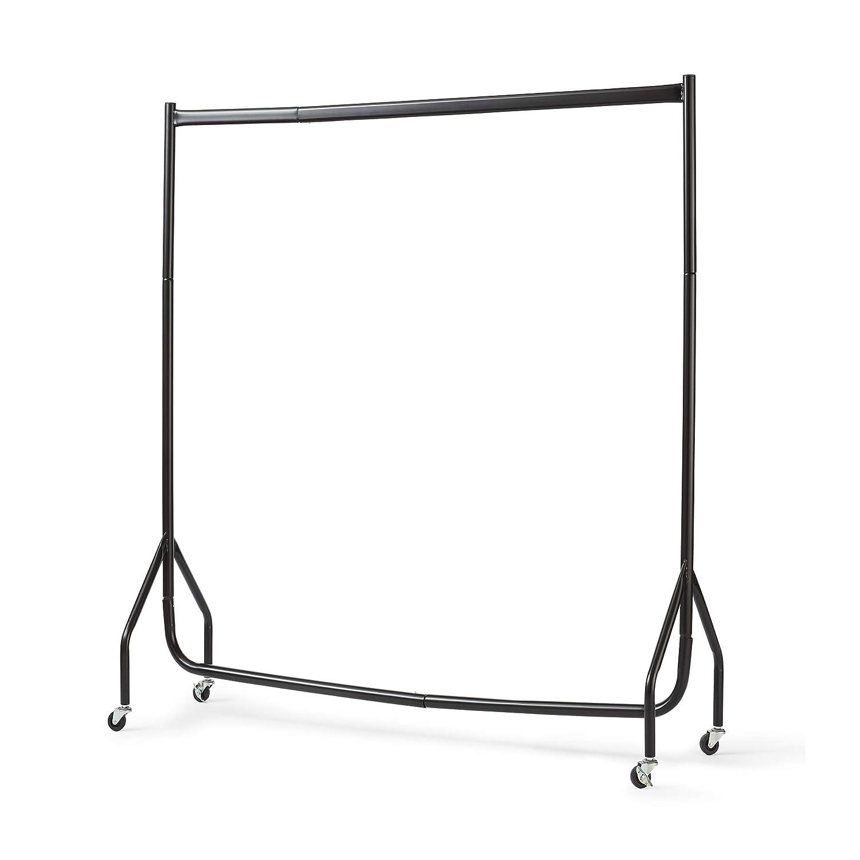 DIRECT ONLINE HOUSEWAR Direct Online Houseware Portant à Vêtements en Acier Résistant Noir 122x152cm RICOMEX UK LTD