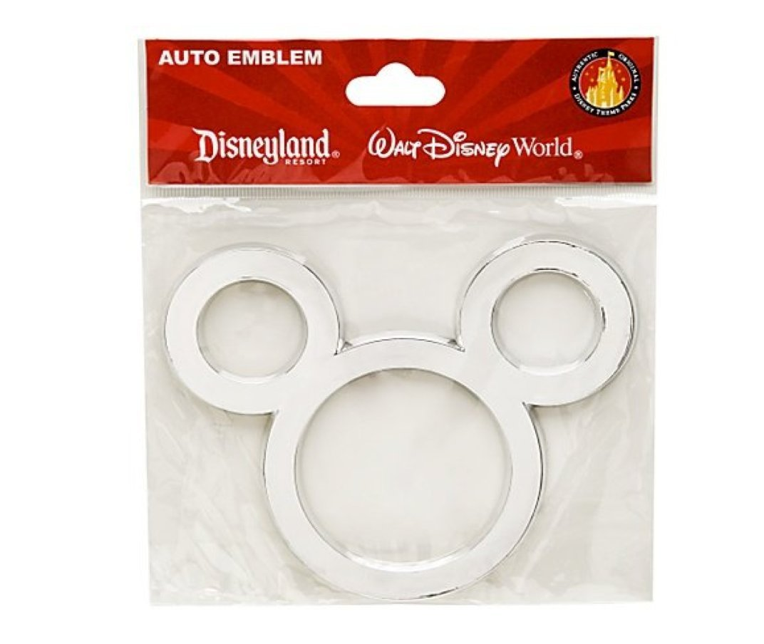 Amazon com disney theme parks exclusive mickey mouse icon auto car emblem automotive