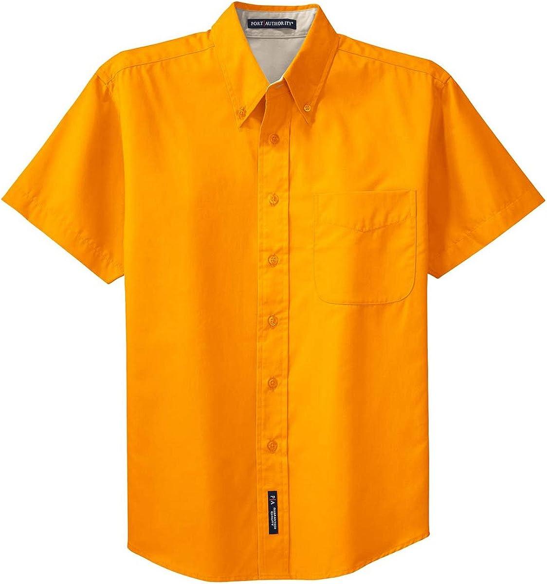 Autoridad Portuaria de Hombre Camiseta de Manga Corta de f/ácil Cuidado