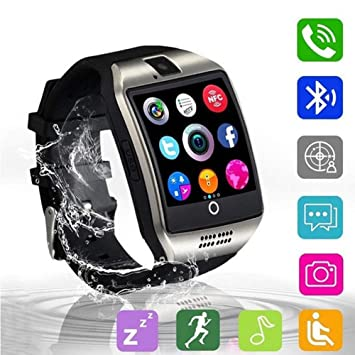 KDSFJIKUYB Smartwatch Q18 Bluetooth Smart Watch con cámara ...