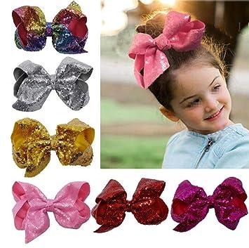 12 Bowtie Kids Hair Snap Clips Hair Grip Barrettes Headband Hair Accessories