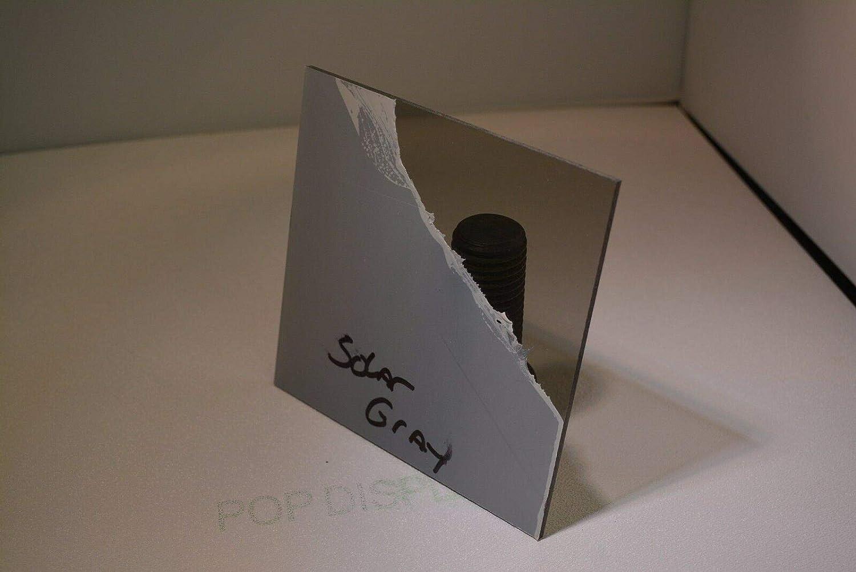 LEXAN Sheet Polycarbonate Solar Gray Smoke 1//16 x 24 x 12