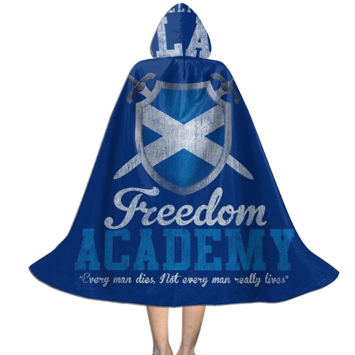 NUJIFGYTCRD Braveheart William Wallace Freedom Academy Capa con ...